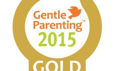 Gentle Parenting Awards 2015 - Gold