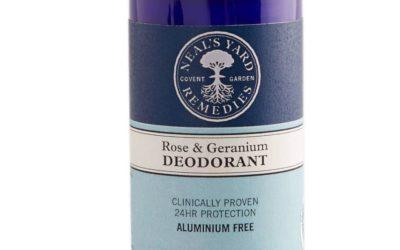 Rose And Geranium Deodorant