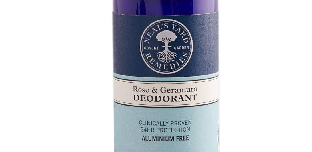 Rose And Geranium Deodorant