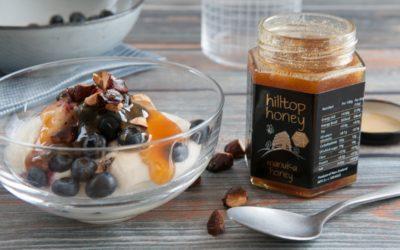 Hilltop Honey Manuka Honey - lifesyle breakfast