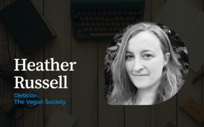 Heather Russell, nutritionist, The Vegan Society