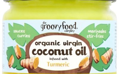 The Groovy Food Company Organic Virgin Coconut Oil infused with Turmeric... (1)