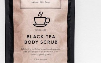 black tea scrub