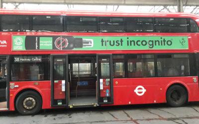 incognito London Bus Campaign 2