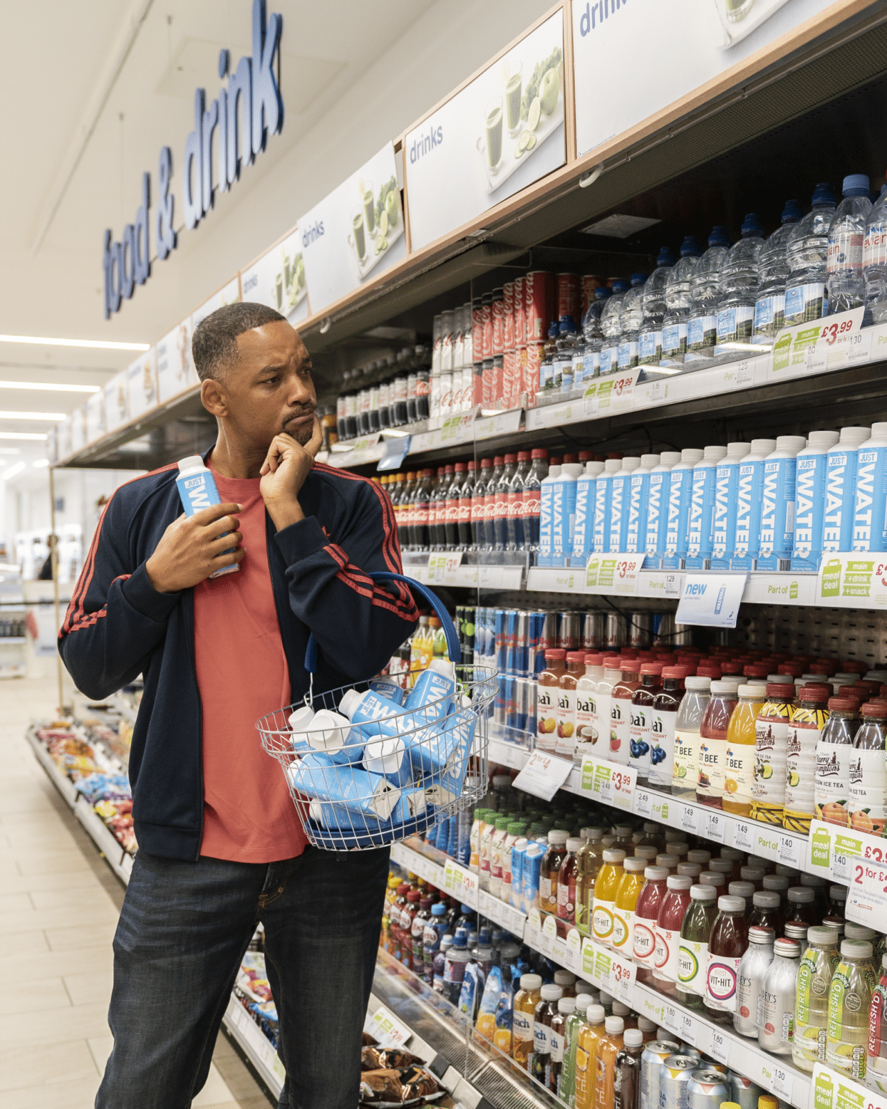 Will Smith makes a splash in the UK with JUST Water -  www.naturalproductsonline.co.uk