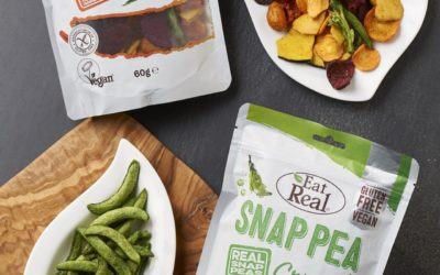 Veggie Bites and Snap Pea Crunch from Eat Real.