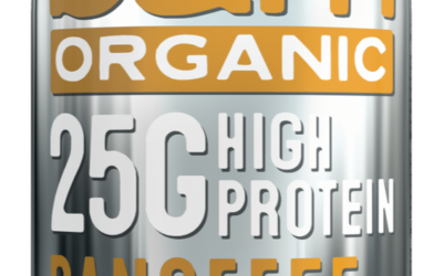 BAM ORGANIC_ACTIVE RANGE_BANOFFEE 25G ADDED PROTEIN_CUT-OUT