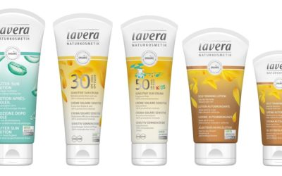 lavera Relaunches Organic & Vegan Sun Care and Self-Tanning Range 12.06.19