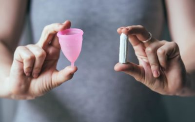 Thumbs up for menstrual cup