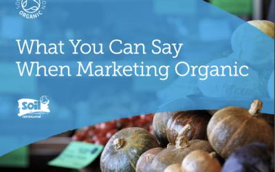 communicate about organic