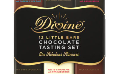 Divine Chocolate Tasting Set - Front