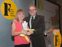 Focaccia per tutti - winner FFFood Awards 14 with Antony Worrall Thompson