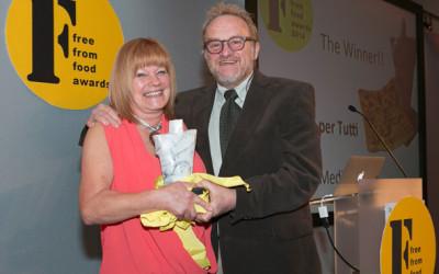 Focaccia per tutti - winner FFFood Awards 14 with Antony Worrall Thompson