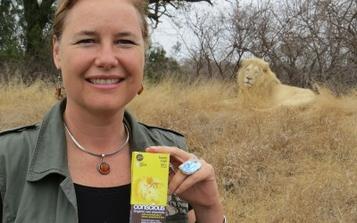 Linda Tucker with Lions Raw chocolate bar[1]