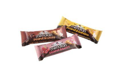 Meridian Peanut Variant Nut Bars 2015