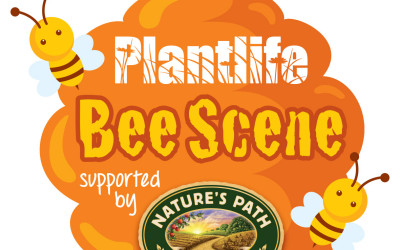 NATURES PATH_PLANTLIFE BEE SCENE LOGO