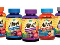 NEW Nature's Way Alive! Soft Jell Multi-Vitamin Range