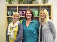Naturya team left to right- Helen, Nettie Wells, Victoria Hare