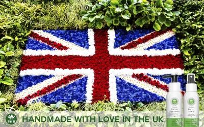 PHB Products Handmade with love in the UK