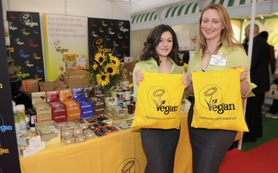 The Vegan Society Stand at The NOPE Show