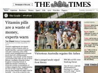Times vitamin story