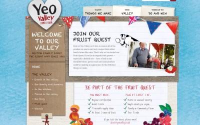 Yeo valley webs site