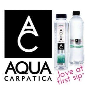 AQUA Carpatica logo + elements