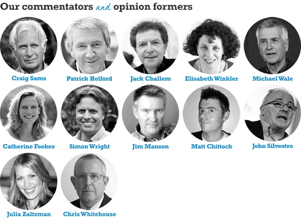 Our commentators and opinion formers