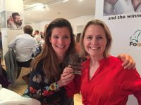 Des and Frankie at the Food Talk Awards