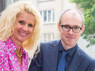 Mark Smith and Klara Ahlers