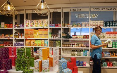 EDITORIAL USE ONLY Hospital staff shop following the official opening of the Royal Voluntary ServiceÕs (RVS) first Revitalise shop at the Western General Hospital in Edinburgh, which provides healthy and dietary-friendly options for hospital staff, visitors and patients. PRESS ASSOCIATION Photo. Picture date: Tuesday October 4, 2016. The shop is being launched following research by RVS into the dietary habits of hospital staff in Scotland. The findings show that despite advocating a 5-a-day diet, two fifths of NHS doctors and nurses eat one or no pieces of fresh fruit or vegetables during a typical working day. Fourteen per cent of all Scottish nursing staff admit they have a poor diet. Photo credit should read: Dave Cheskin/PA Wire