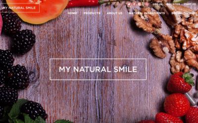 my natural smile