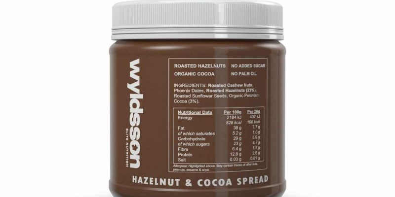 Wyldsson Hazelnut and Cocoa Spread 5