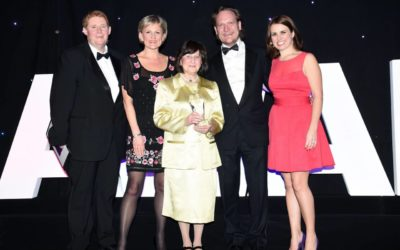 North West Business Masters Awards 2015 SME Exporter of the Year winner 12th march 2015resized