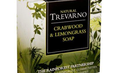 Trevarno Rainforest Partnership soap