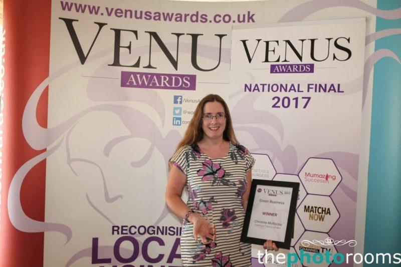 Earthwise trading wins best green business www venus green business winner 2017 freerunsca Images