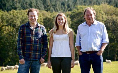 Hamish Bury, Anna Bury and Mark Bury