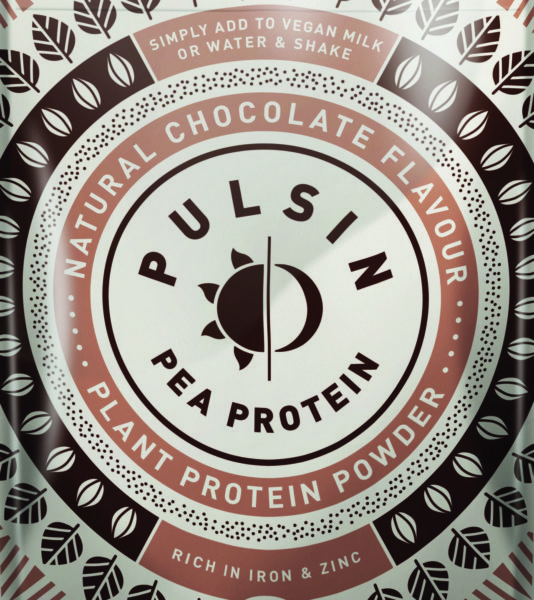 Pulsin Choc Pea Protein 250g 3D CMYK