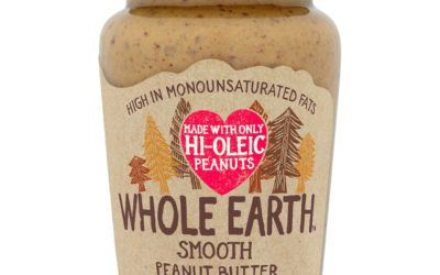Whole Earth Hi-Oleic Smooth peanut butter - packshot