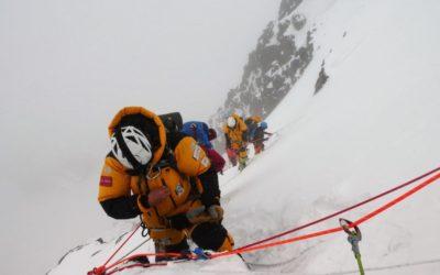 Noel Hanna K2 climbing