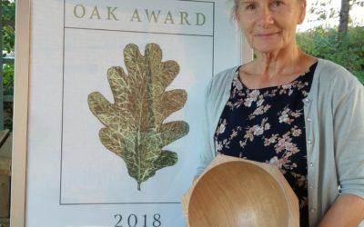 Susie Hewson Oak Award 2