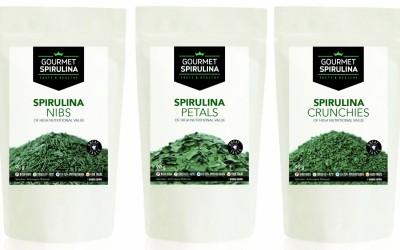Gourmet Spirulina Nibs Petals and Crunchies(1)