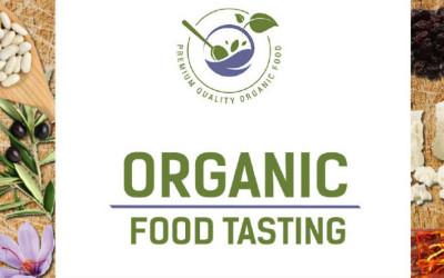 organic food tasting