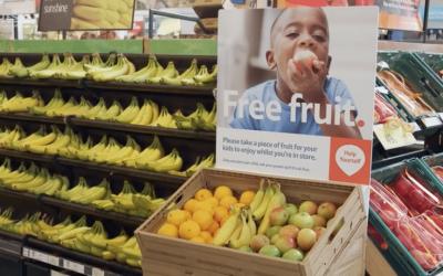 Tesco free fruit